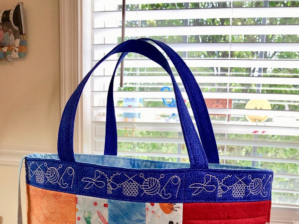 In the Hoop Sewing Tote for Fabric Challenge