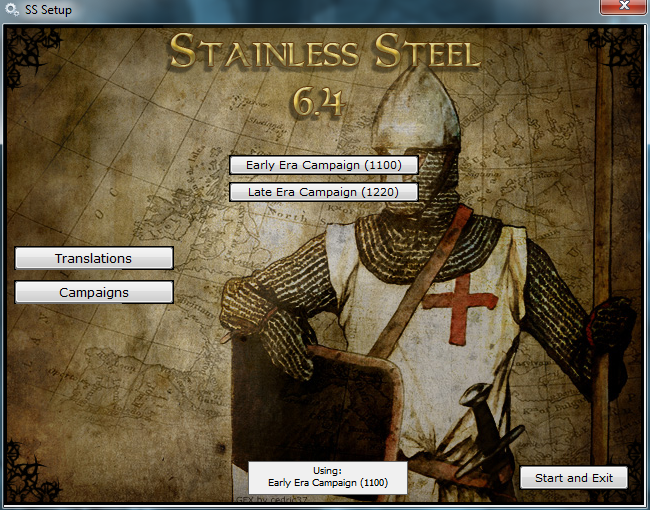Medieval II: Total War Kingdoms Stainless Steel 6.4 Campaign