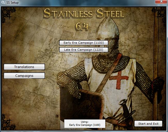 Medieval II: Total War Kingdoms Stainless Steel 6.4 Campaign