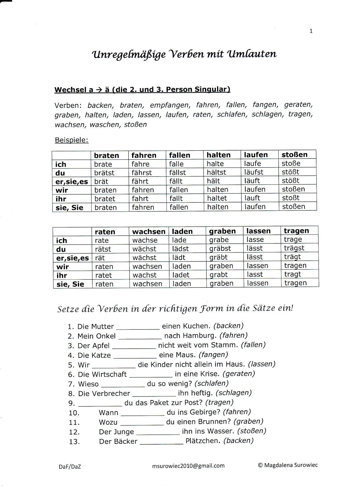 Conjugarea verbului kennenlernen