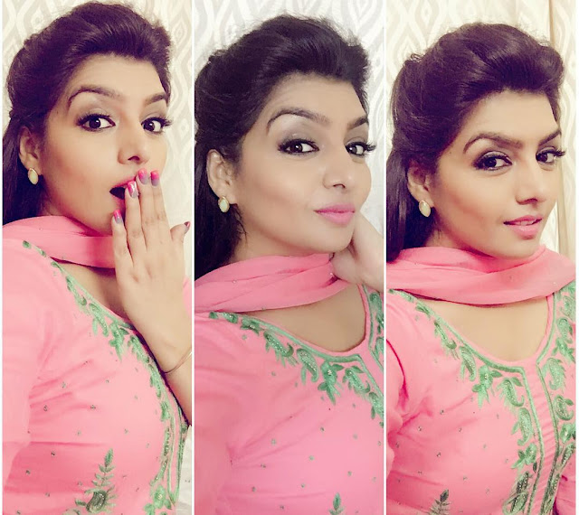 Rupinder Handa In Pink Punjabi Suit images, Wallpaper Picpile