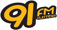 Rádio 91 FM 91,3 de Curitiba PR