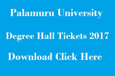 pu degree exam hall tickets 2017 download