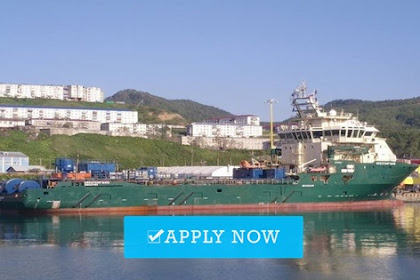Job at Sea in Brunei Offshore Shipping Company