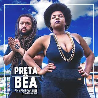 """""""Alvo Fácil"""" é o novo single da Preta Bêa, que conta com participação do Gegê e Produção Ricardo Mock"""
