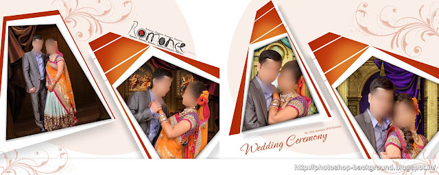 Decent Portrait Wedding Album PSD