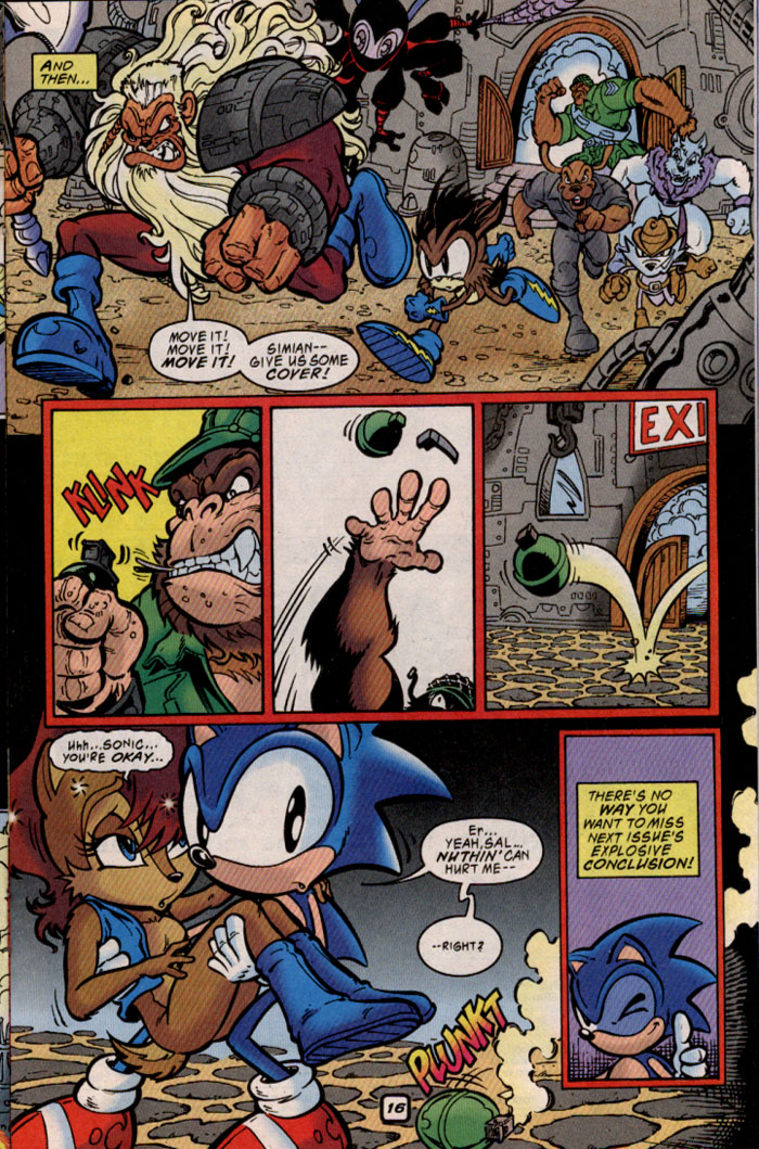 Read online Sonic The Hedgehog comic -  Issue #69 - 16