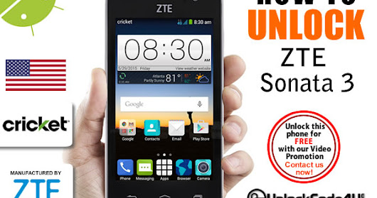 How to Unlock ZTE Blade V7 from Three Network