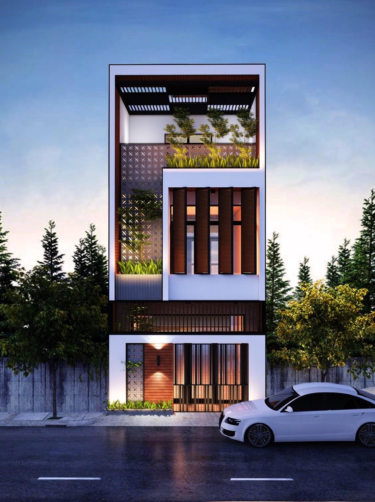 Bali Agung Property Inspirasi Desain Eksterior Rumah Dengan Lebar Depan Sempit