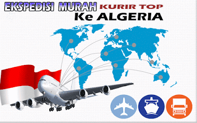 JASA EKSPEDISI MURAH KURIR TOP KE ALGERIA