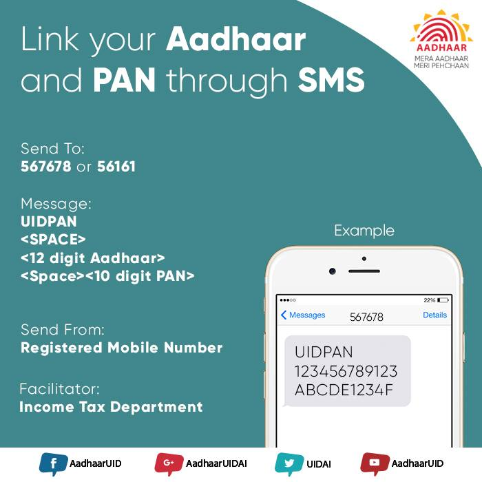 linked pan card to aadhar
