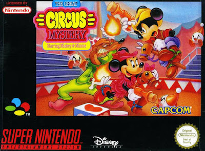 Rom de Mickey & Minnie - The Great Circus Mystery - SNES - em português - Download