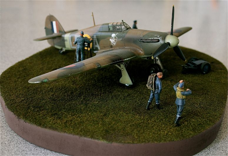 The Great Canadian Model Builders Web Page Dave Porters Hawker