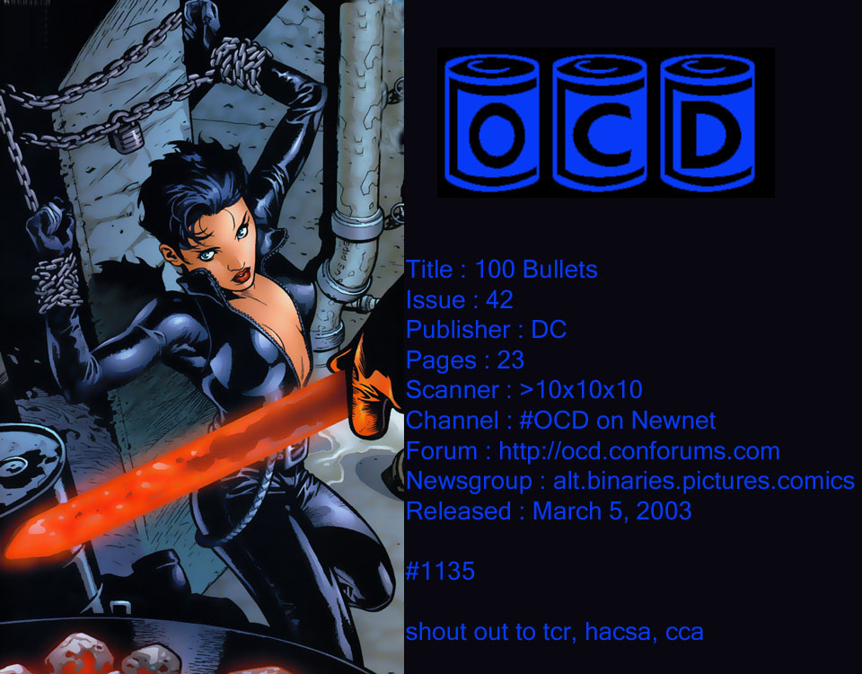 Read online 100 Bullets comic -  Issue #42 - 1