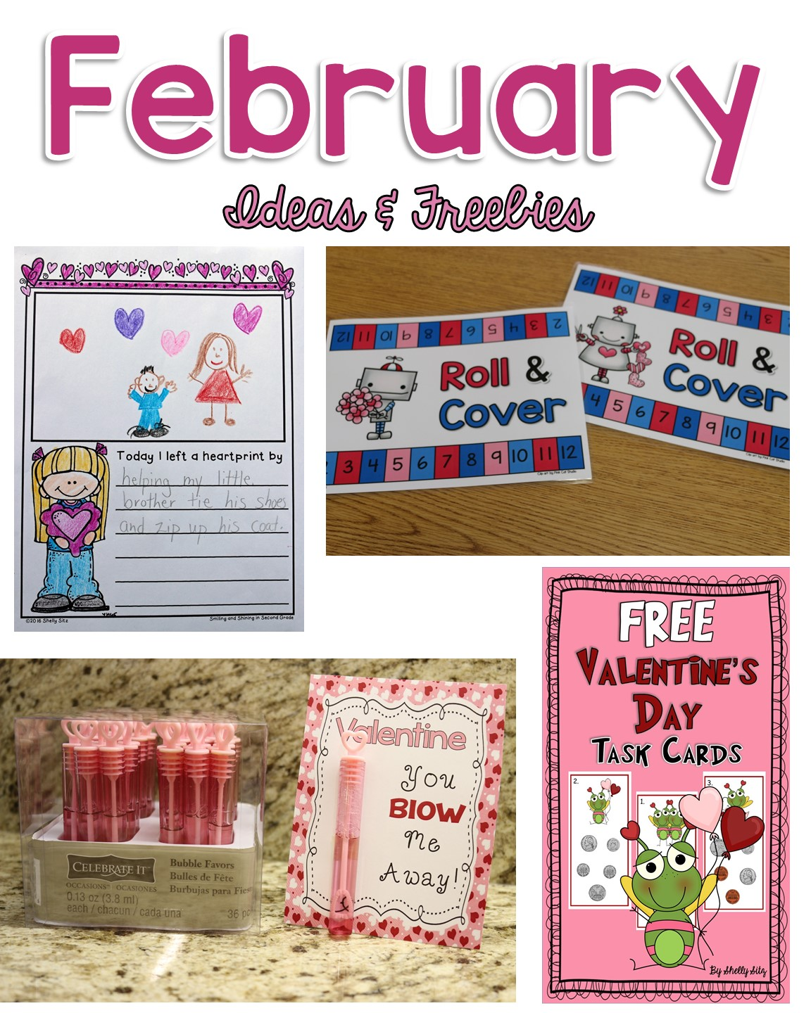 Smiling And Shining In Second Grade February Ideas And