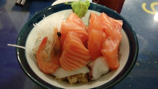 【台北美食】六張犁新鮮生魚片,築地平價日式料理