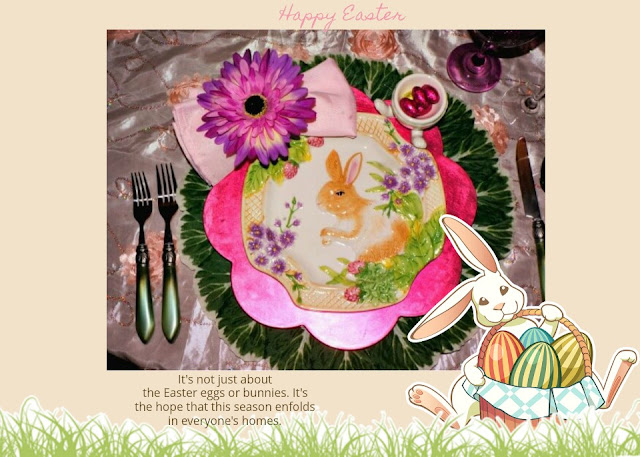 Mr Amp Mrs Bunny Tablescape Life And Linda