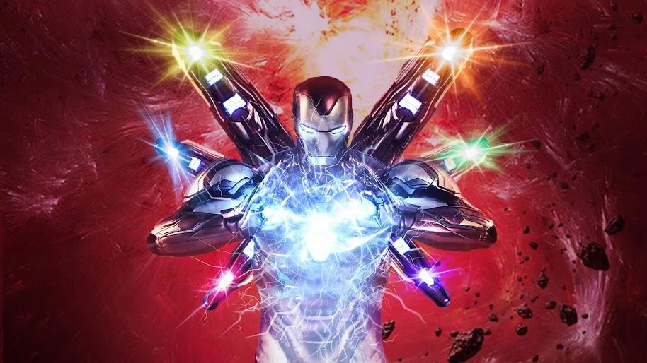 Avengers Endgame Iron Man Infinity Stones 4k Wallpaper 155