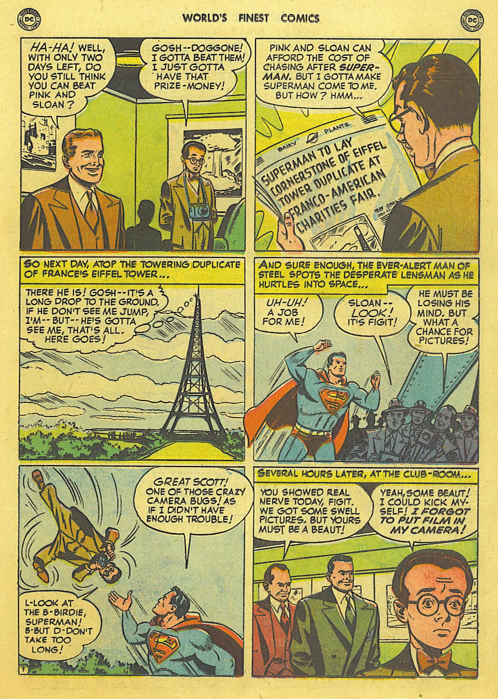 Read online World's Finest Comics comic -  Issue #49 - 10