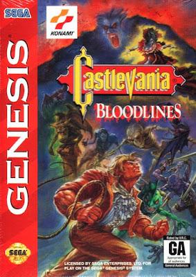Review - Castlevania: Bloodlines - Mega Drive