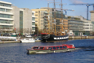 Discounted tickets for the Dublin river cruise