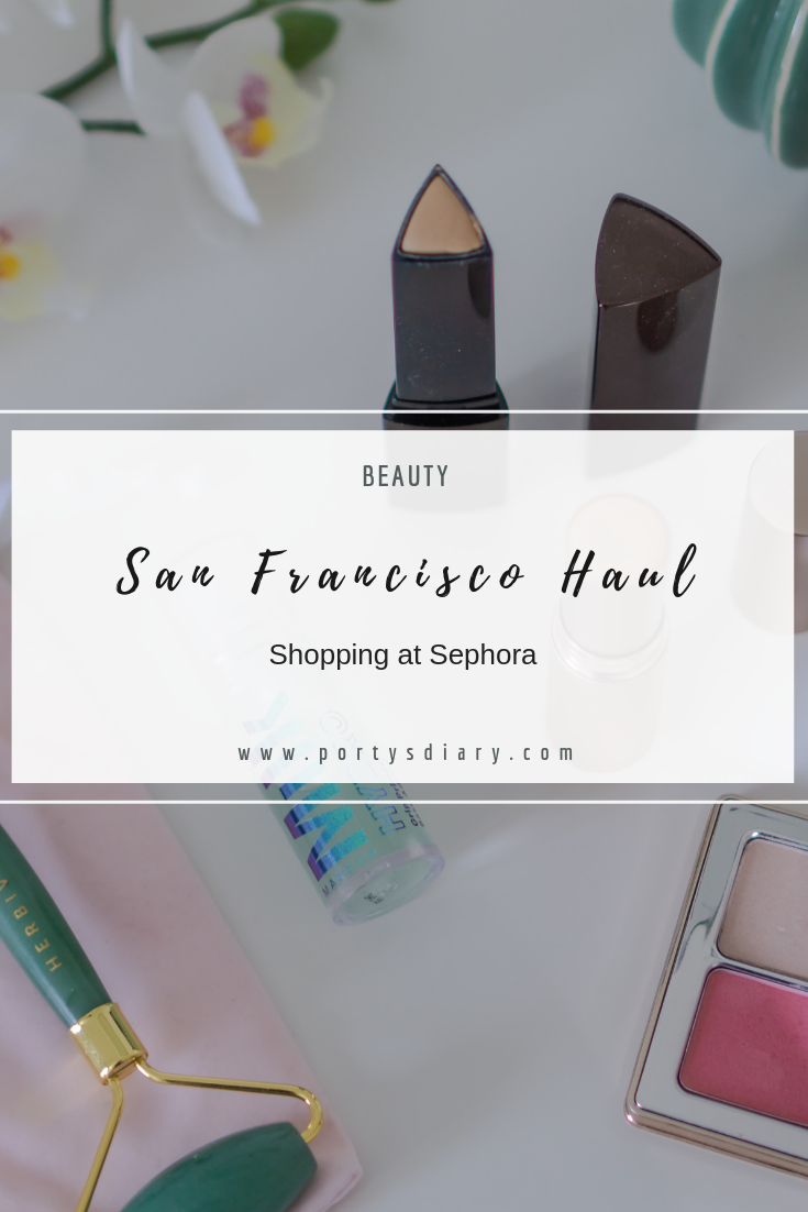 Beauty Haul in San Francisco. Features Natasha Denona, Hourglass, Bare Minerals, Milk Makeup, Tatcha and many more. Sephora.