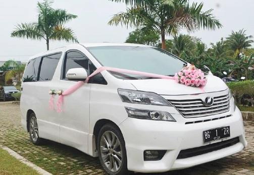 Harga Sewa Mobil Pengantin Acara Pernikahan