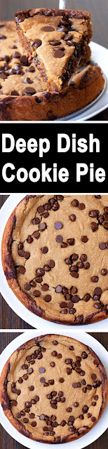 Yummy Deep Dish Cookie Pie