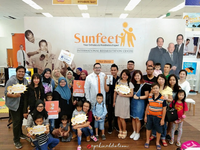 "Promosi ""Back To School"" Bersama Sunfeet International Rehabilitation Centre"