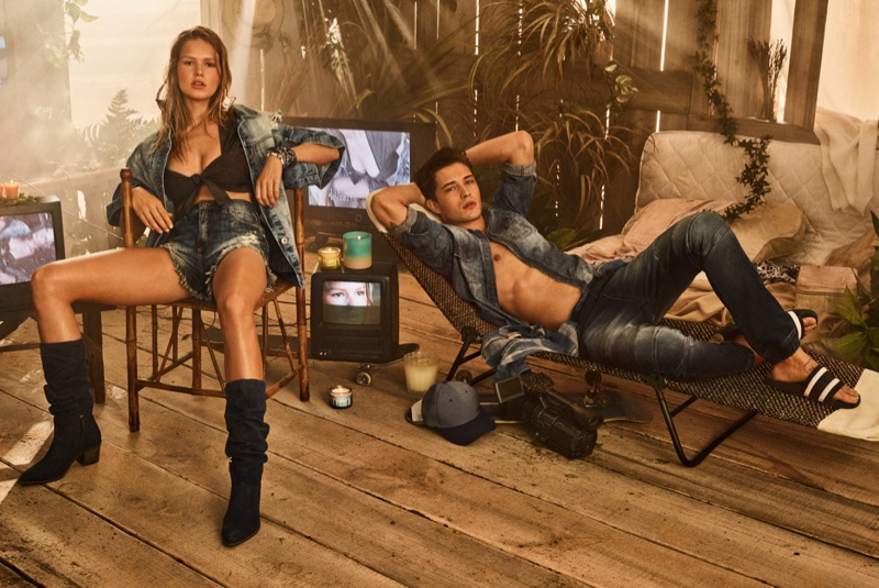 Anna Ewers stars in Colcci's spring-summer 2018 campaign