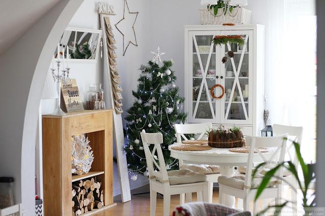 dekoracje świąteczne, wieniec adwentowy, Atrapa kominka DIY, choinka 2017, kalendarz adwentowy na desce, dekoracje Pepco
