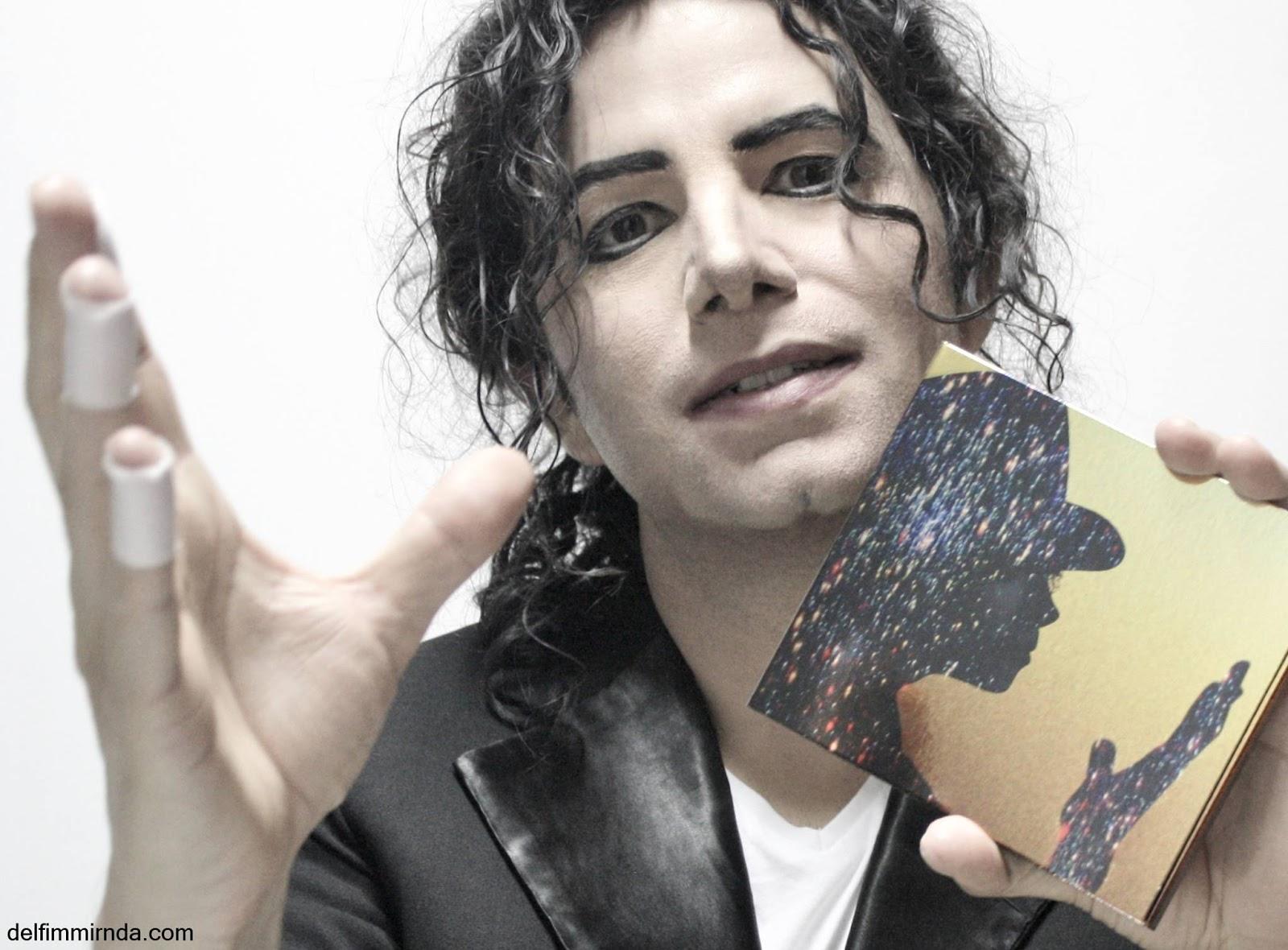 Delfim Miranda - Michael Jackson Tribute - Xscape Gold back