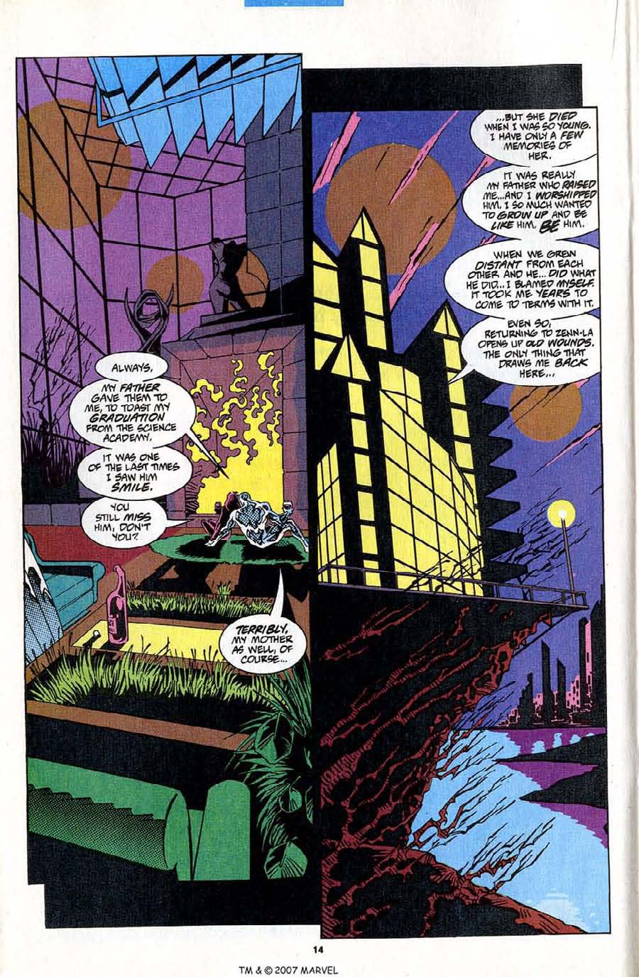 Read online Silver Surfer (1987) comic -  Issue #83 - 16