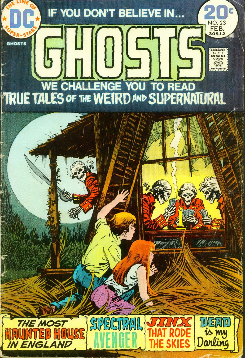 Read online Ghosts comic -  Issue #23 - 2
