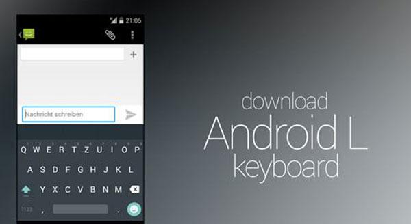 Belum Resmi Rilis, Keyboard Android L Sudah Tersedia di Google Play