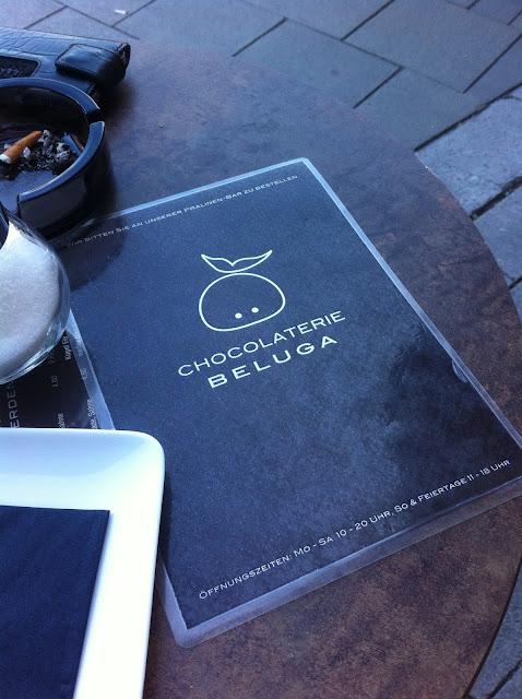 Karte vom Chocolaterie Beluga