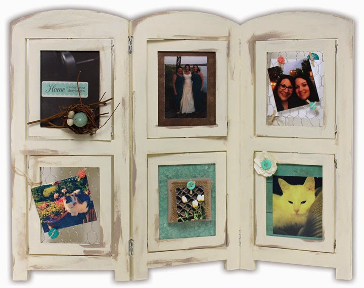 Picture Fold 4x6 Frames Tri