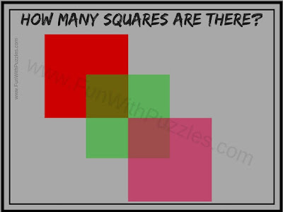 How many Squares Picture Puzzle