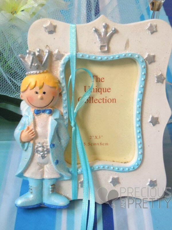 Little prince Christening favor