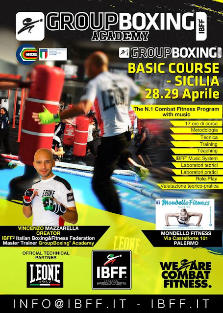 GroupBoxing. Basic - Sicilia - 28-29 aprile 2018 a Palermo