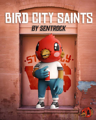 Bird City Saint W$ Stay Fly Edition Vinyl Figure by Sentrock x Mighty Jaxx