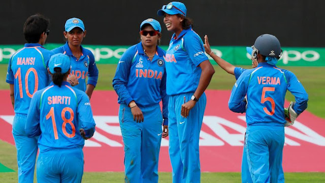 India defeated Sri Lanka by 16 runs in an ICC Women's World Cup match at Derby. Mithali Raj and Deepti Sharma scored a half-century for the winners. Get full cricket score of India vs Sri Lanka here.