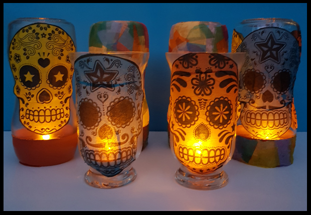 lighten up lanterns - great kids craft