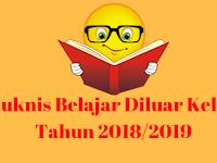 Juknis Belajar Diluar Kelas Tahun 2018/2019