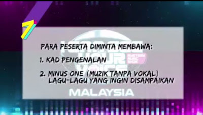 Audition I Can See Your Voice Malaysia 2019