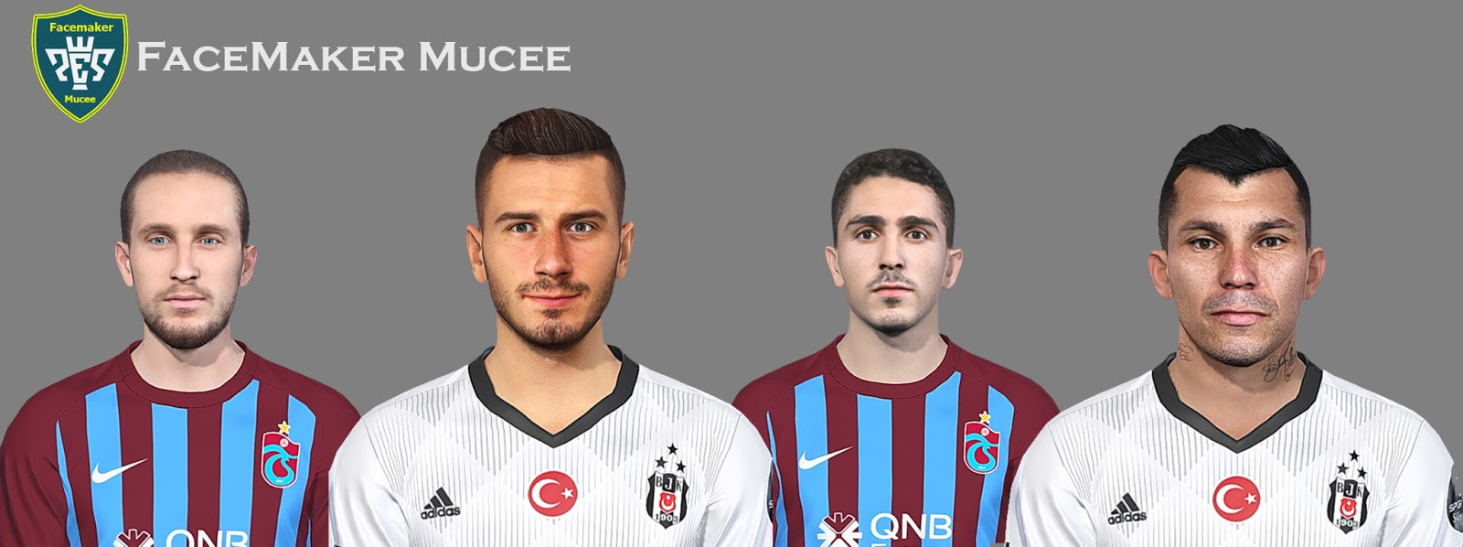 PES 2019 Facepack vol 2 by Mucee