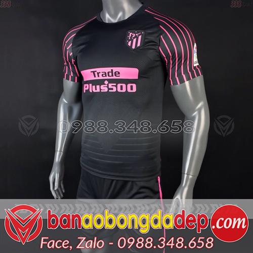 Áo Atletico đen training 2019