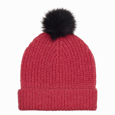 whistles pink beanie