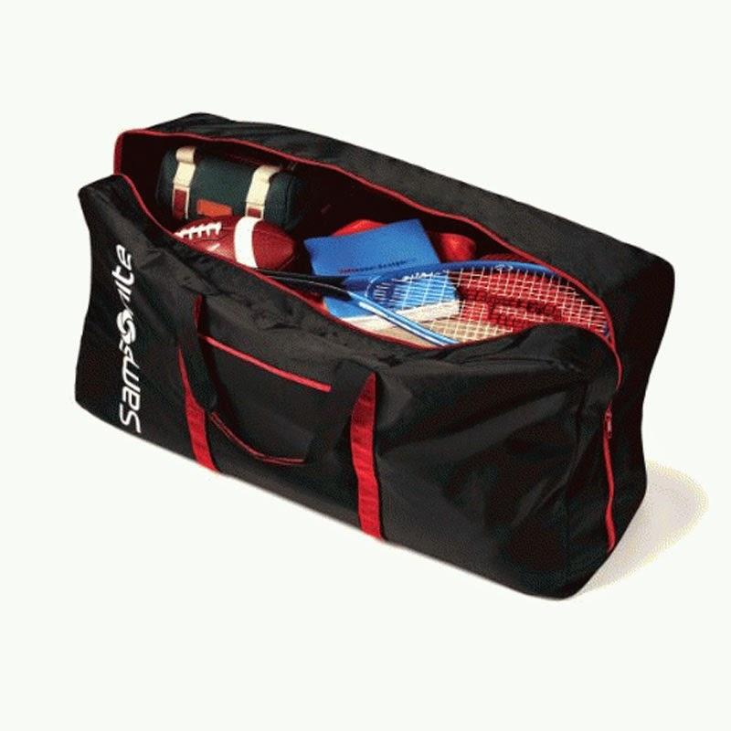 Tas Samsonite Te A Ton Inch Duffle Luggage Black Original