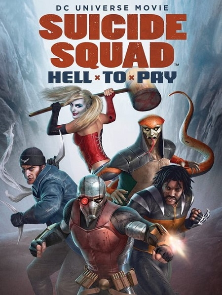 Suicide Squad: Hell to Pay (2018) 720p WEBRip 2.8GB mkv Dual Audio AC3 5.1 ch